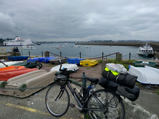 Andy Sanderson - Portugal to UK by bike 2017